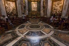 Sant Agnese in Agone church, Rome, Italy Stock Photos