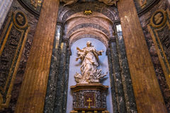 Sant Agnese in Agone church, Rome, Italy Stock Image