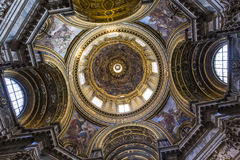 Sant Agnese in Agone church, Rome, Italy Royalty Free Stock Image