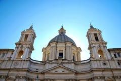 Sant'Agnese in Agone, Marktplatz Navona Lizenzfreie Stockbilder