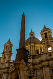 Sant Agnese in Agone in the Piazza Navona Royalty Free Stock Image