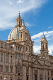 Sant'Agnese in Agone at Piazza Navona in Rome Royalty Free Stock Photography