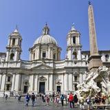 Sant'Agnese i Agone, Rome Royaltyfri Foto