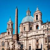 Sant ` Agnese Rzym, Włochy, - Fotografia Stock