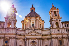 Sant ` Agnese w Agone Obraz Royalty Free