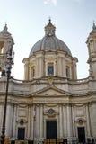 Sant Agnese w Agone kościół Obrazy Royalty Free