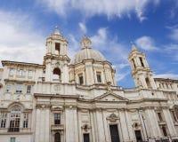 Sant ` Agnese w Agone kościół Obrazy Stock