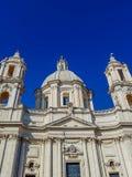 Sant ` Agnese w Agone kościół przy piazza Navona w Rzym Fotografia Royalty Free