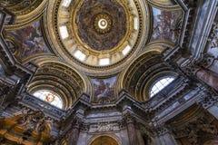 Sant Agnese w Agone kościół, Rzym, Włochy Zdjęcie Royalty Free