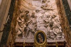 Sant Agnese w Agone kościół, Rzym, Włochy Fotografia Stock