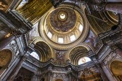 Sant Agnese w Agone kościół, Rzym, Włochy Fotografia Royalty Free