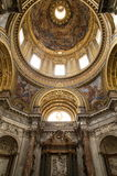 Sant ` Agnese w Agone Rzym, Włochy Fotografia Royalty Free
