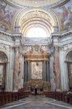 sant'Agnese w Agone w Rzym Zdjęcie Royalty Free