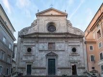 Sant'Agostino bazylika w Rzym Zdjęcia Royalty Free