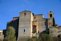 Sant'Agostino (Colle di Valdelsa) Fotografia Stock Libera da Diritti