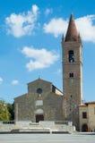 Sant& x27; Agostino kościół w Arezzo Tuscany Włochy Obraz Stock