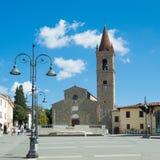 Sant& x27; Agostino kościół w Arezzo Tuscany Włochy Zdjęcie Stock