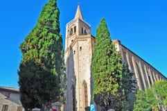 Sant'Agostino kościół w Rimini Zdjęcie Stock
