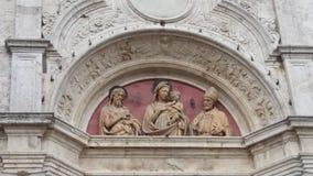Sant Agostino church in Montepulciano. Sant Agostino (meaning St Augustine) church in Montepulciano, Italy Royalty Free Stock Photos