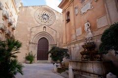 sant'Agostino saturno i kościół Zdjęcie Royalty Free