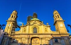 Sant'Alessandro in Zebedia church, Milan Stock Photo