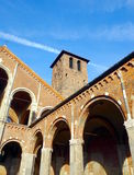 sant ambrogio的大教堂 免版税库存照片