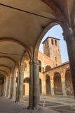 Sant ` Ambrogio,米兰,伦巴第,北意大利大教堂  免版税图库摄影