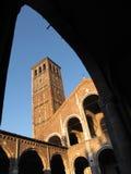 Sant'ambrogio basilica Royalty Free Stock Image
