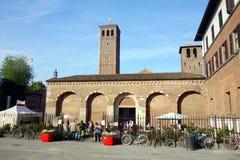 Sant'Ambrogio Basilica Stock Images