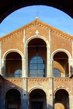 Sant'Ambrogio Basilica Royalty Free Stock Images