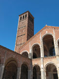 Sant Ambrogio church, Milan Royalty Free Stock Photos