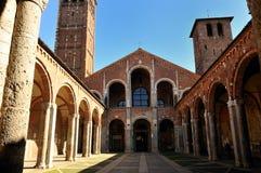 Sant'Ambrogio a Milano, Italy Stock Image
