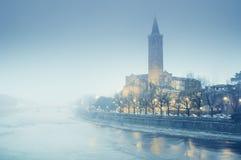 Sant`Anastasia Church in Verona - Italy Stock Image