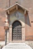 Sant'Anastasiakerk van de Dominicaanse Orde in Verona Royalty-vrije Stock Foto