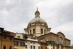 sant andrea basilica di kupol italy mantua Royaltyfri Foto