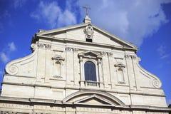 Sant'Andrea della Valle Church Stock Photo