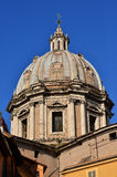 Sant`Andrea della Valle cupola royalty free stock photography