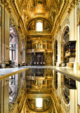 Sant'Andrea della Valle. Famous basilica Sant Andrea Della Valle. Church interior Stock Photo