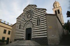 Sant ` Andrea kościół w Levanto italy Liguria Fotografia Royalty Free