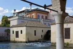 Sant Andrea Mills en Portogruaro Imágenes de archivo libres de regalías