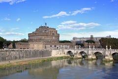 Sant Angelo Bridge Lizenzfreie Stockbilder