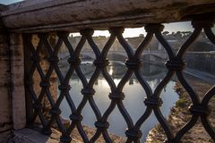 Sant` Angelo Bridge, Rome Stock Photography