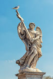Sant'Angelo bridge statue Stock Photography