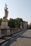 Sant'Angelo bridge Royalty Free Stock Image