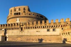 Sant ` Angelo Castel, Ρώμη Στοκ Εικόνες