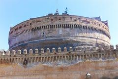 Sant ` Angelo Castel - Ρώμη Στοκ φωτογραφίες με δικαίωμα ελεύθερης χρήσης