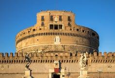 Sant ` Angelo Castel, Rome Arkivbilder