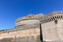 Sant'Angelo Castel - Rome Royaltyfria Bilder