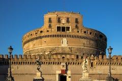 Sant ` Angelo Castel, Rome Royaltyfri Foto