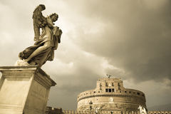 Sant ` Angelo Castel Sant'Angelo Στοκ Εικόνα